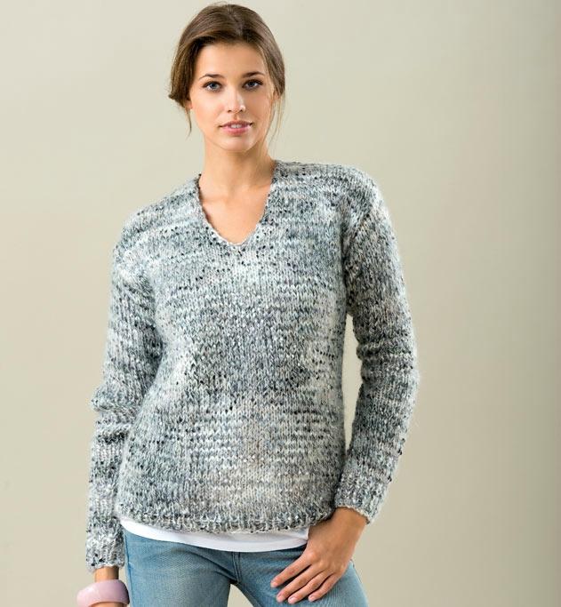 modele de pull femme a tricoter