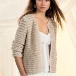Veste en tricot pour femme