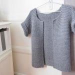 Tricoter gilet femme simple