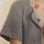 Gilet facile à tricoter pour femme