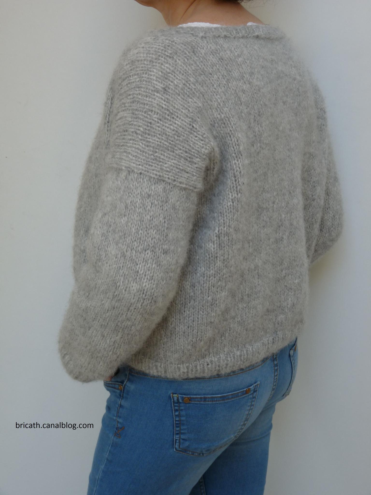 faire un gilet en tricot laine et tricot. Black Bedroom Furniture Sets. Home Design Ideas