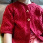 Modele tricot gilet ajouré femme