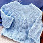 Tricoter brassière laine bébé