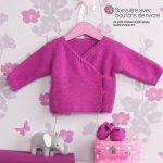 Modèles brassières bébé à tricoter