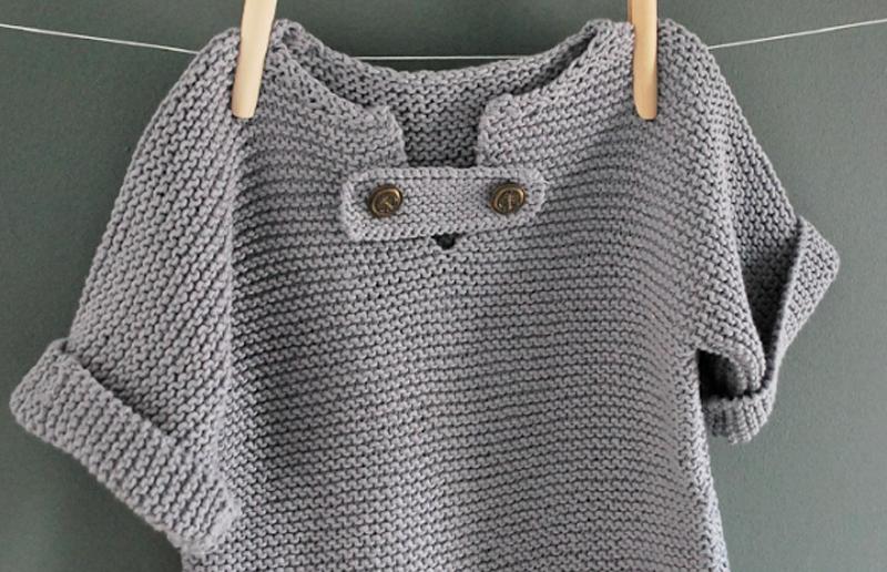 modele gratuit de tricot pour bebe