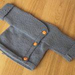 Brassiere naissance a tricoter facile