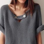 Tuto veste femme tricot