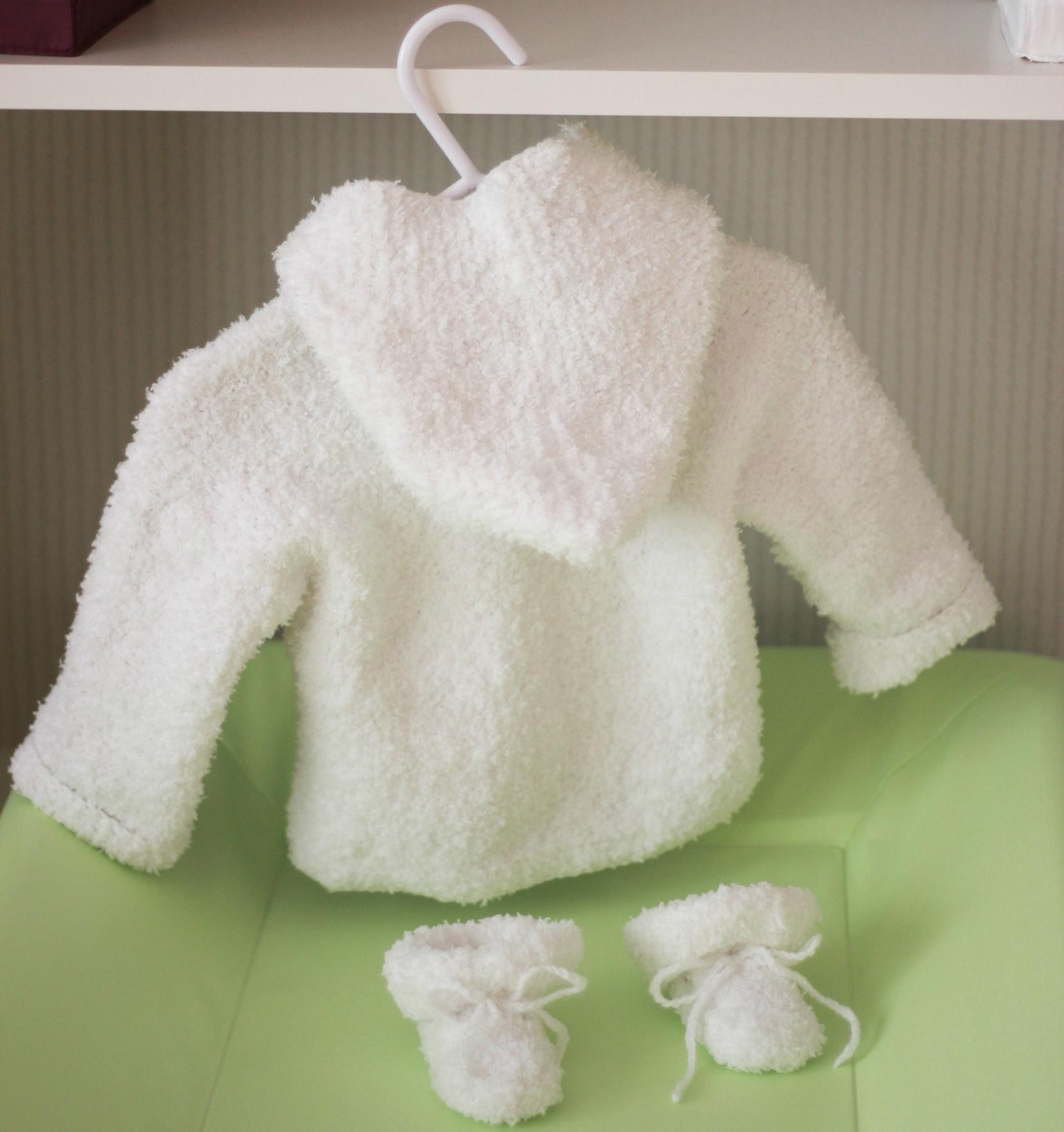 modele gratuit bebe tricot