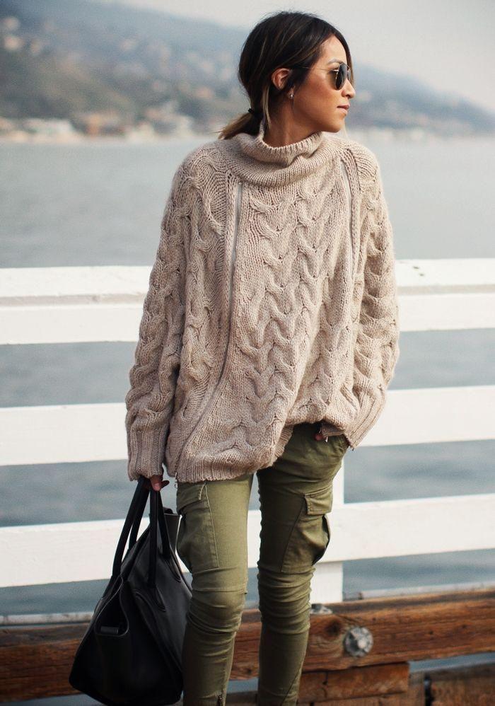 Préférence Pull irlandais femme - Laine et tricot OZ63