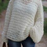 Tricoter un pull pour femme debutant