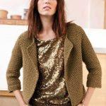Modèle tricot cardigan femme
