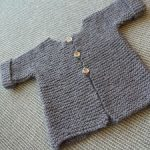 Tricot point mousse tuto