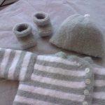 Brassières en laine pour nouveau né