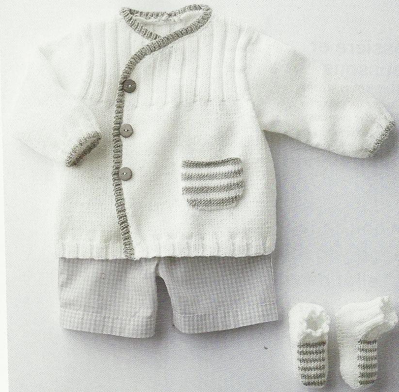 Modele tricot bebe garcon gratuit laine et tricot - Modele tricot bebe gratuit debutant ...