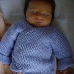 Brassière croisée bébé