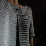 Tricot gilet facile
