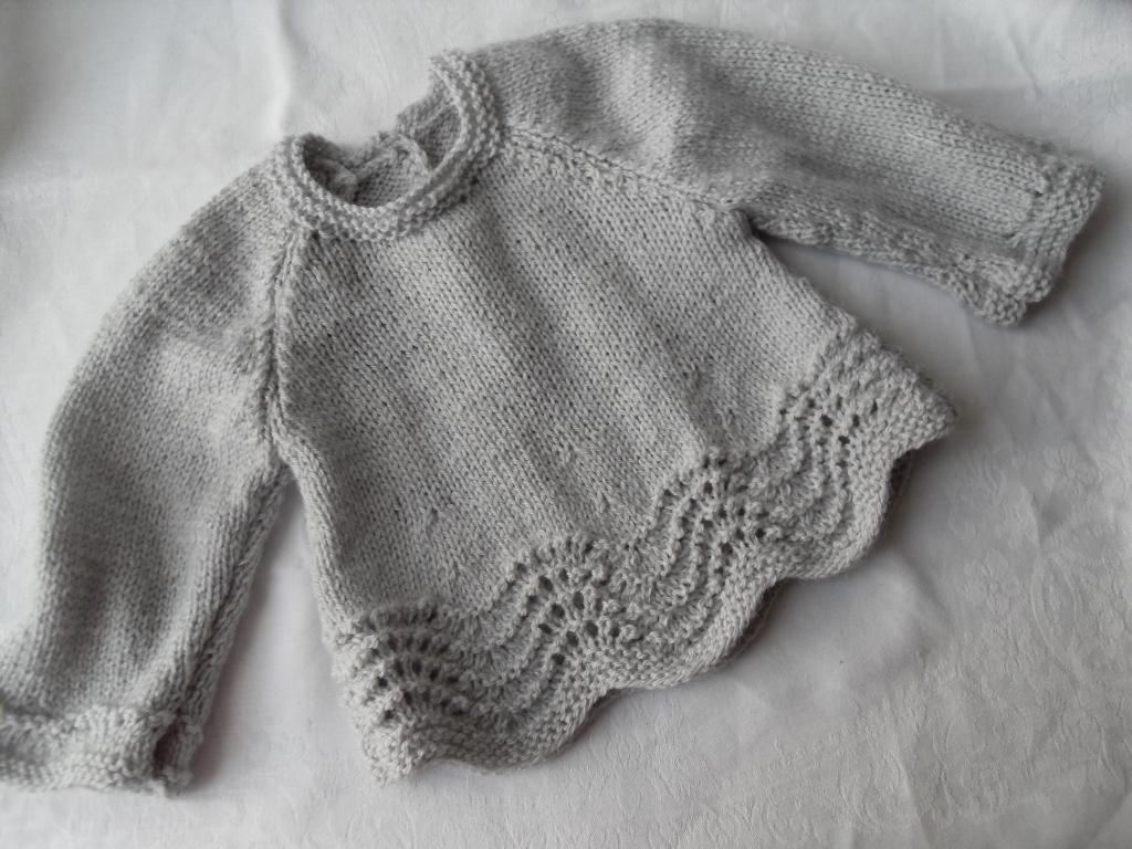 tricoter brassiere bebe gratuit