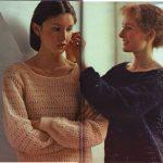 Modele pull facile a tricoter