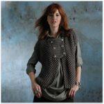 Modele gratuit gilet femme tricot