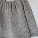 Modele tricot pull bebe fille