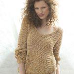 Modèle pull crochet femme