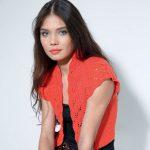 Modèle tricot boléro femme