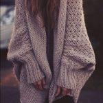Gilet femme grosse maille laine
