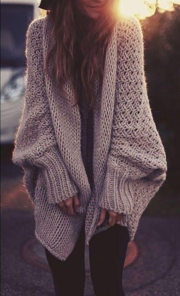 Top Gilet femme grosse maille laine - Laine et tricot WJ56