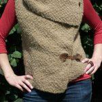 Gilet sans manche tricot facile