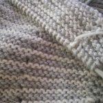 Point tricot pour brassiere bebe