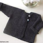 Gilet tricot bébé gratuit