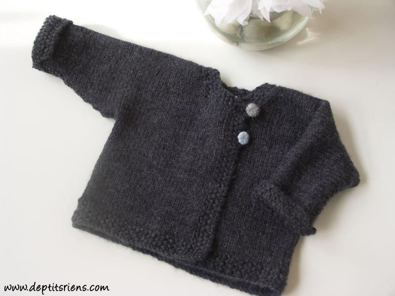 patron tricot bebe gratuit