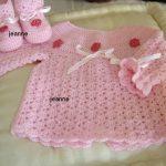 Layette crochet bébé