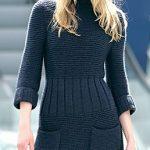 Modele robe tricot femme gratuit