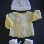 Tricoter layette naissance facile