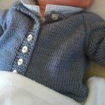 Modele tricot gilet bebe 1 mois