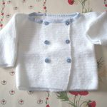 Modèle layette gratuit tricot