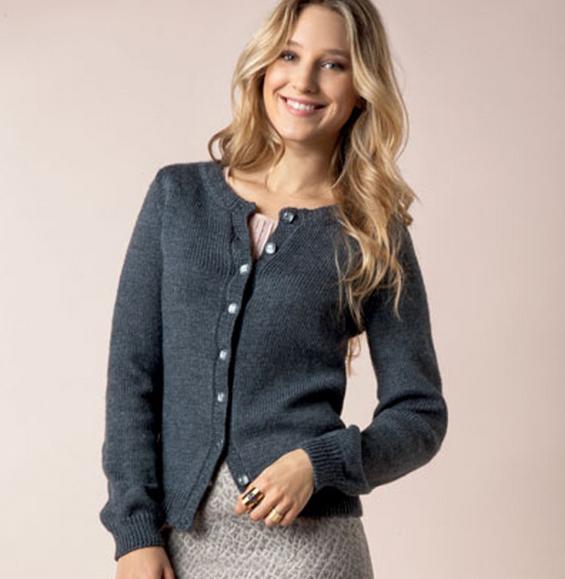 Modèle gilet tricot femme - Laine et tricot