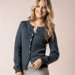 Modele tricot gilet femme manches longues