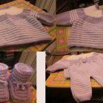 Tricot layette naissance fille