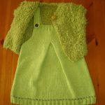 Robe bébé tricot