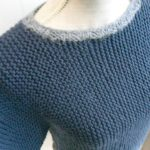 Tricot facile point mousse