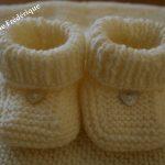 Modèle à tricoter pour bébé