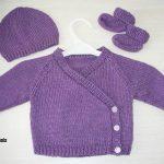 Modele brassiere tricot naissance