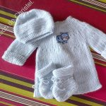 Layette au tricot