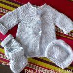Modele de layette a tricoter pour bebe gratuit