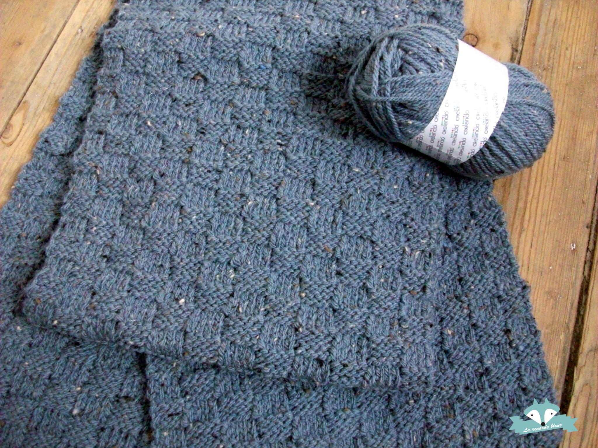 tricot echarpe laine et tricot. Black Bedroom Furniture Sets. Home Design Ideas
