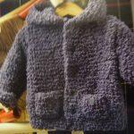 Gilet en laine pour bebe