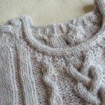 Modele pull torsade femme tricot gratuit