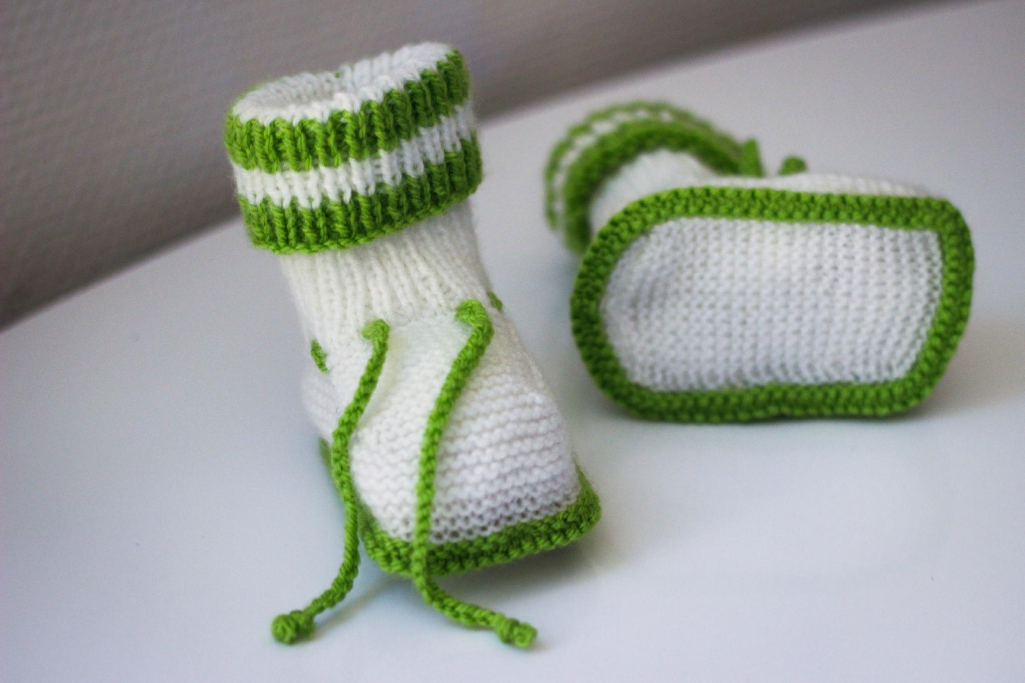 modeles chaussons layette gratuit